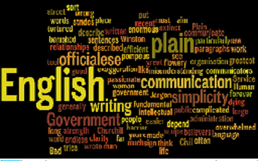 SEC makes clear its plan for writing plain English